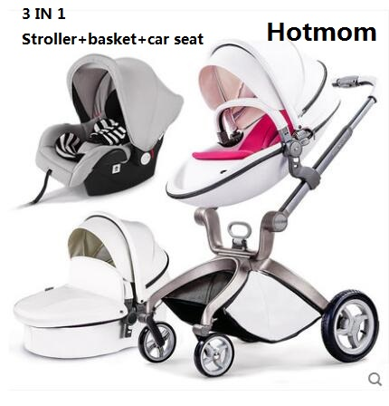 Luxury Baby Stroller Fashion Pram European Carriage Suit for infant to age 3