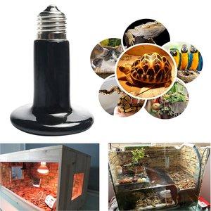 Image 2 - ICOCO 25W 50W 75W 100W 150W 200W IR ısı yayıcı ampul seramik ısıtma lambası pet sürüngenler ve amfibi Drop Shipping satış