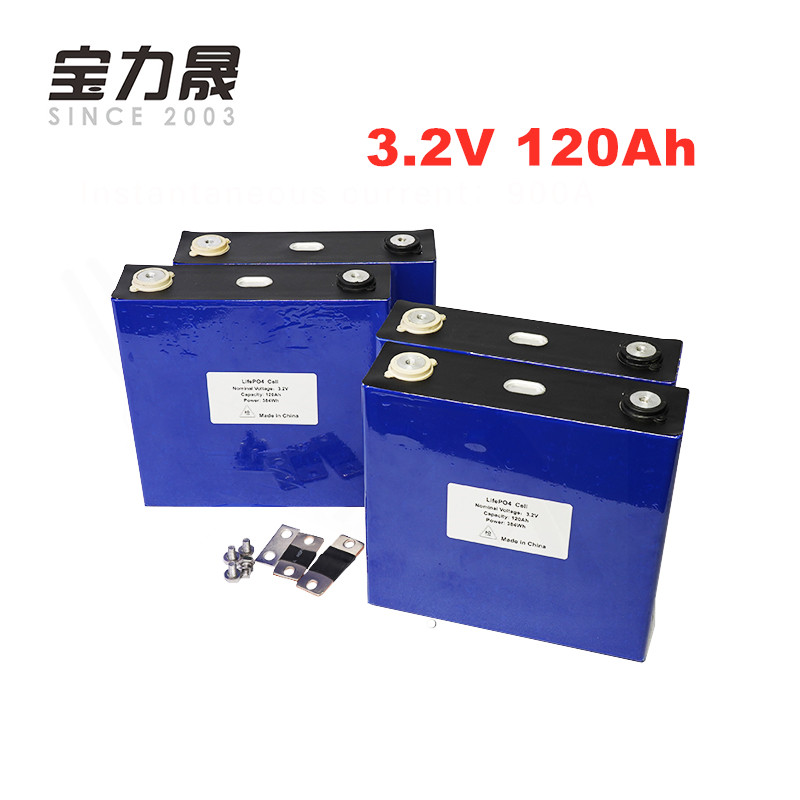 CATL 4PCS 3.2V 120Ah LiFePO4 Long LifeCycles 3500 Times  3C Rechargeable 12V 12.8V cells not 100Ah for energy storage UPS