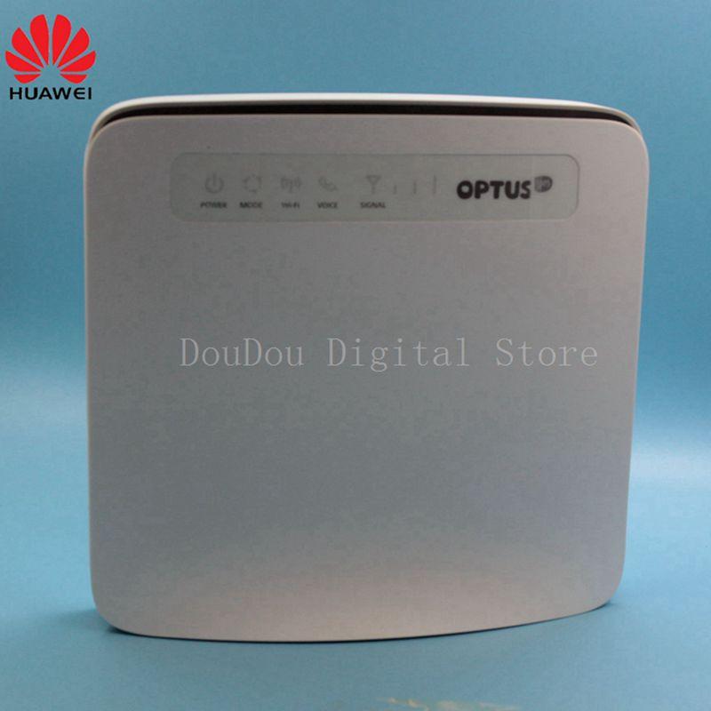 Débloqué Huawei E5186 E5186s-61a avec Antenne 4g LTE 300 Mbps CPE Sans Fil Routeur Hotspot Gateway PK B593, B310