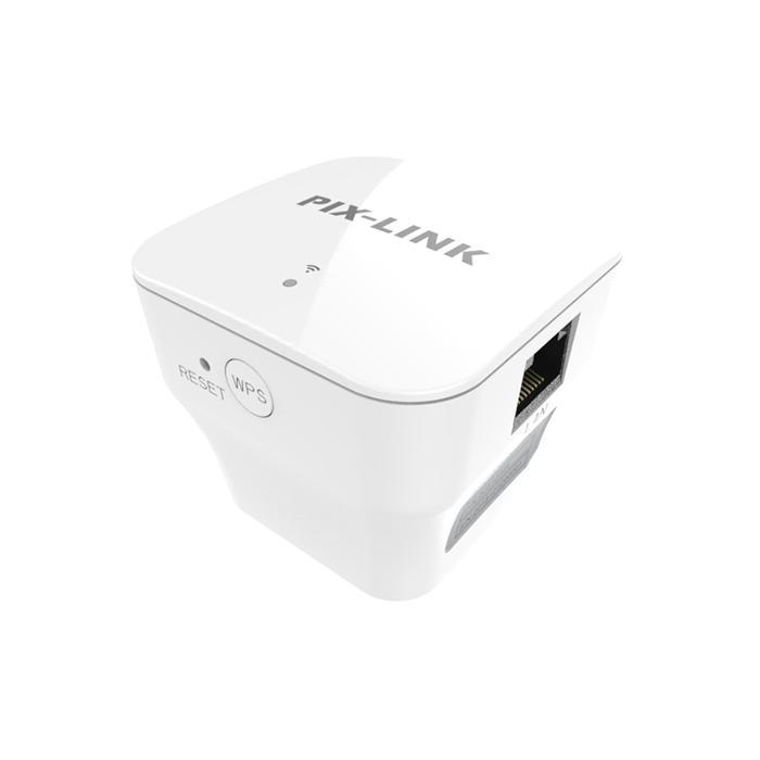 300M Wireless Repeater/Router/AP Range Extender Signal WIFI Booster White 10/100Mbps LAN/WAN Port 300Mbps
