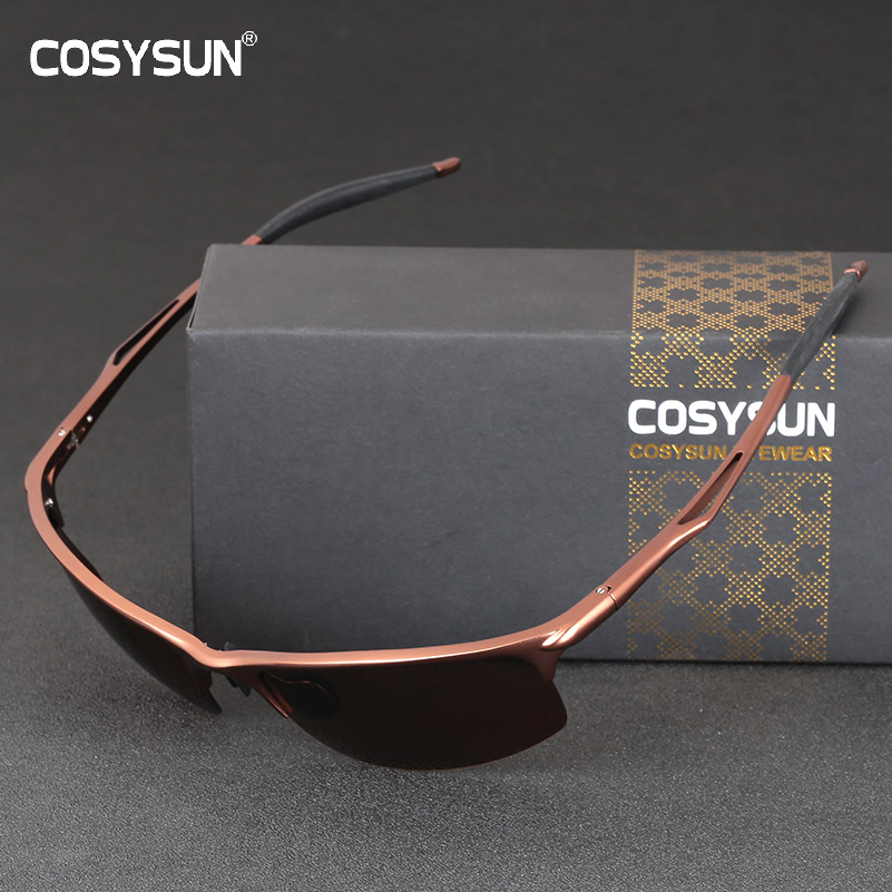 2018 HD Polarized Sunglasses Men Aluminum Sunglasses Man Rimless Polarized Driving glasses Male Goggle Sports Oculos de sol 081