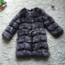CP Brand Long Fur Coat Winter Women Faux Fox Fur Coats Shaggy Womens Fake Fur Jacket Luxury Fur Coat Jacket Custom Length Size