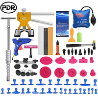 PDR Tools Paintless Dent Removal Car Repair Kit Auto Repair Tool Set Slide Hammer Dent Lifter Suction Cups For Dents