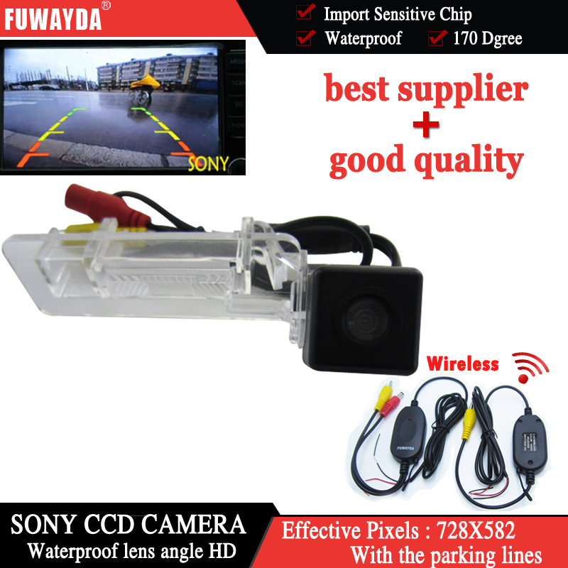 FUWAYDA Wireless SONY CCD Special Car Rear View Reverse Parking Kit Back Up GPS DVD Nav  ...