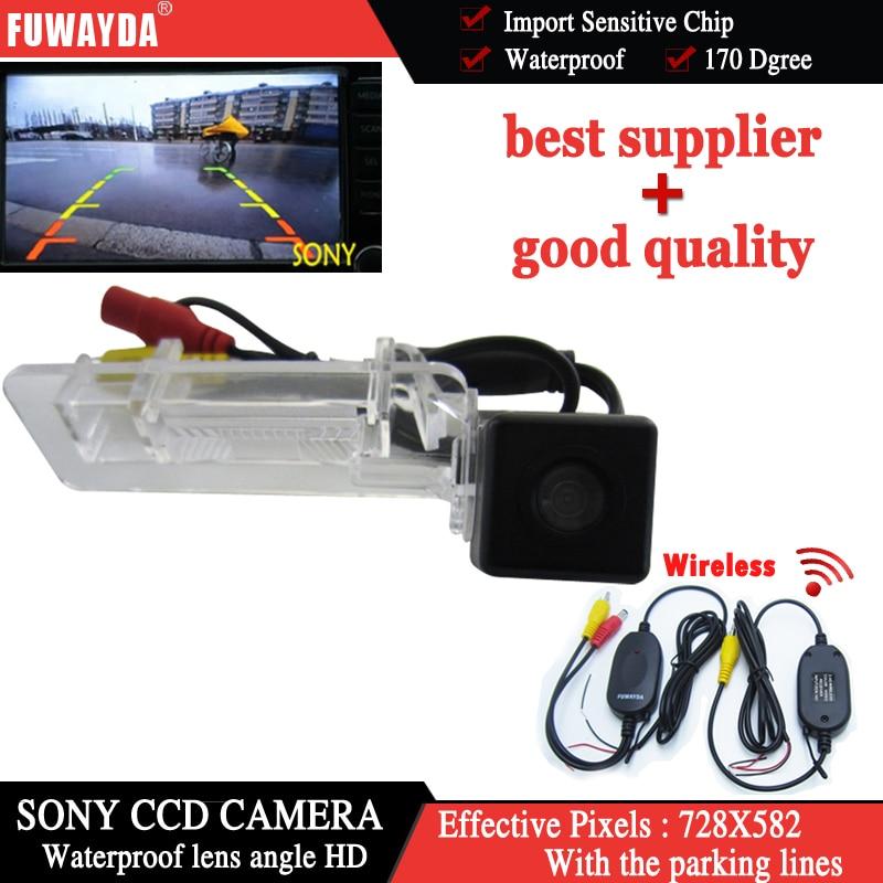 Fuwayda Беспроводной Sony CCD Специальный вид сзади автомобиля Обратный Парковка комплек ...