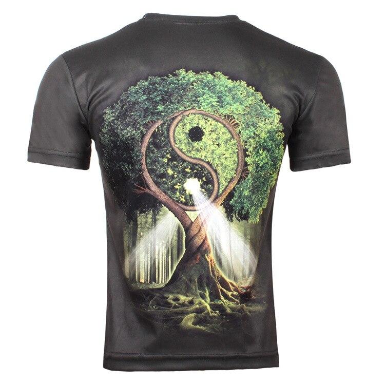 Men's Sacred Tree Ying Yang T-Shirt 2