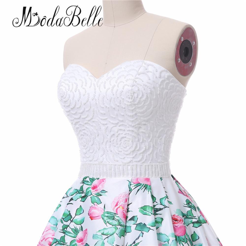modabelle bloemenprint roze lange prom avondjurk vrouwen vestidos de - Jurken voor bijzondere gelegenheden - Foto 5