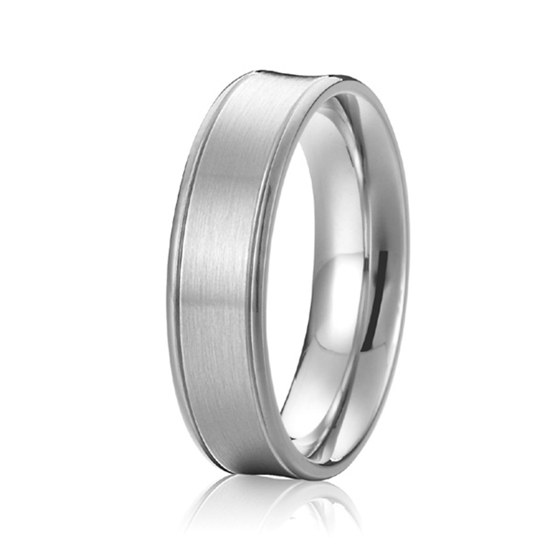 new arrival custom tailor handmade fashion jewelry pure anti allergic titanium mens ring