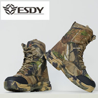 Winter Outdoor Combat Men's Boots Tactical Boots Military Boot Commando Mountaineering Camouflage Boot Cotton Shoe Military Shoe