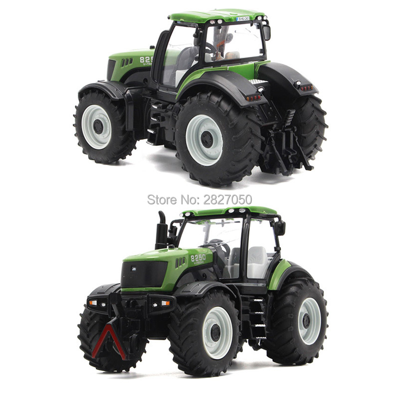 rc truck 4 channel farm tractor plough set paratactic double 5 blade rake remote control farm tractor with plough model toy Big Size Engineering Truck Farm Tractor Bulldozer Alloy Model Toys cars for children