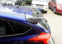 ST Style High Quality Real Carbon Fiber Sports Car Rear Roof Spoiler Wing For Ford New