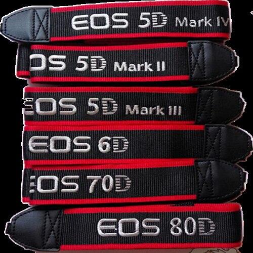 Cámara hombro cuello Correa cinturón Sling para Canon 5D2 5D3 60D 6D 70D 600D 650D 700D 7D 7D2 5D4 DSLR cámara