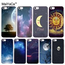 MaiYaCa moon Stars Hot Sale Fashion Luxury cover phone Case for iphone 11 pro 8 7 66S Plus X 10 5S SE XR XS XS MAX(China)