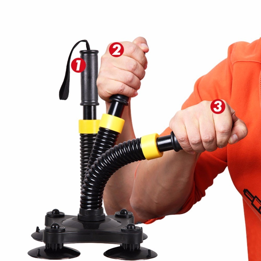 Muñeca entrenador armadura Fitness equipo agarre fuerza brazo antebrazo muñeca ejercitador fuerza mano agarre