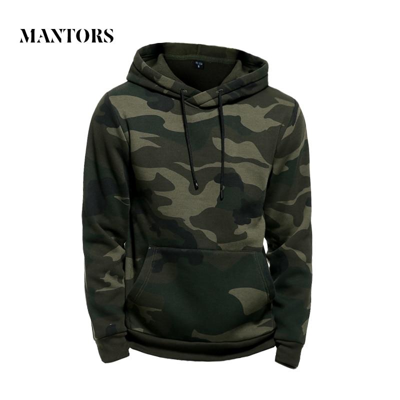 Camo Hoodies Men Military Pocket Hooded 2020 Autumn Winter Army Green Sweatshirt Mens Camouflage Fleece Hoodie Male Hip Hop