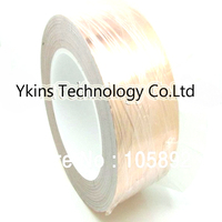 50mm x 30M x 0.06mm Copper Foil Conductive Adhesive and Single Conductive for cooper foil tape of soldering bga