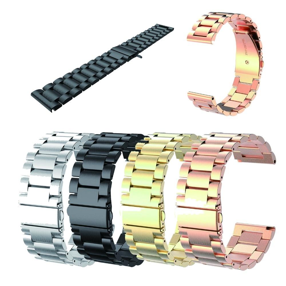 26mm Stainless Steel Metal Strap For Garmin Band Wristband, Metal Watch Band For Garmin Fenix 3/Fenix 3 HR Fenix 5X Watchbands