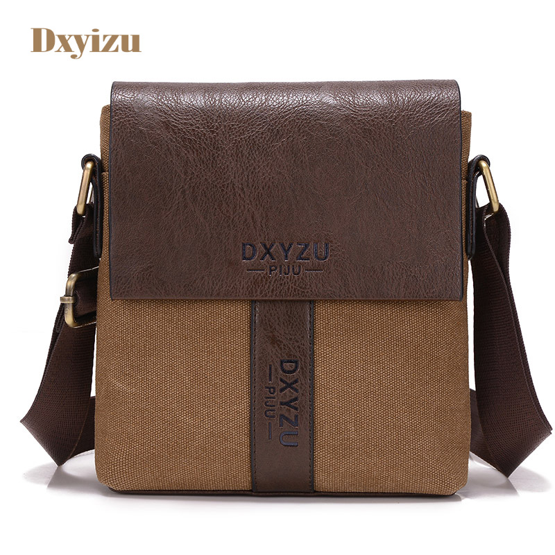Casual simple men Canvas Shoulder Bags Versatile bag Business men messenger bags Crossbody Bags men High-quality clutch boy casual canvas satchel men sling bag