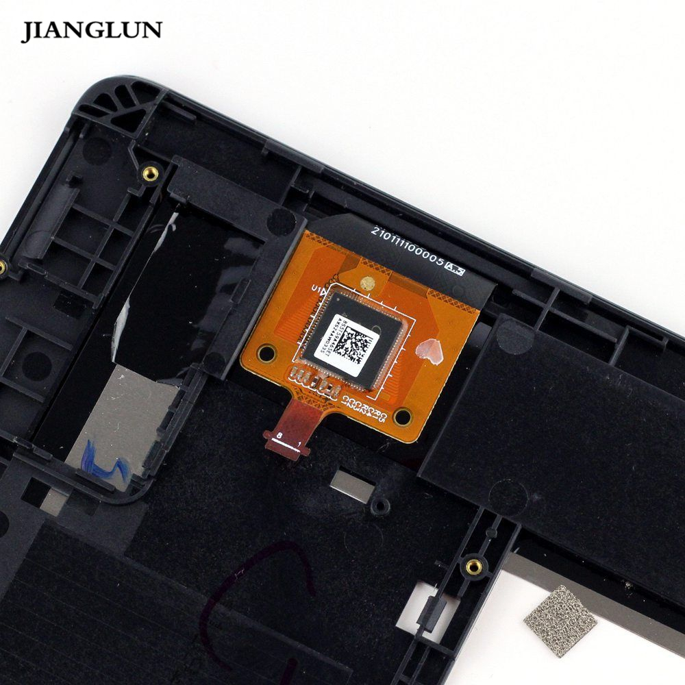 JIANGLUN For Lenovo A10-70 LCD Display TOUCH SCREEN Digitizer Assembly Frame 10.1 lcd display screen panel monitor repair part p101kda ap1 p101kda ap1 10 1inch hd lcd for lenovo tab 2 a10 70l a10 70lc a10 70f