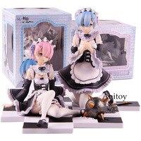 Re: Zero Kara Hajimeru Isekai Seikatsu Anime Figure Rem Ram 1/8 Scale PVC Action Figures Collectible Model Toy