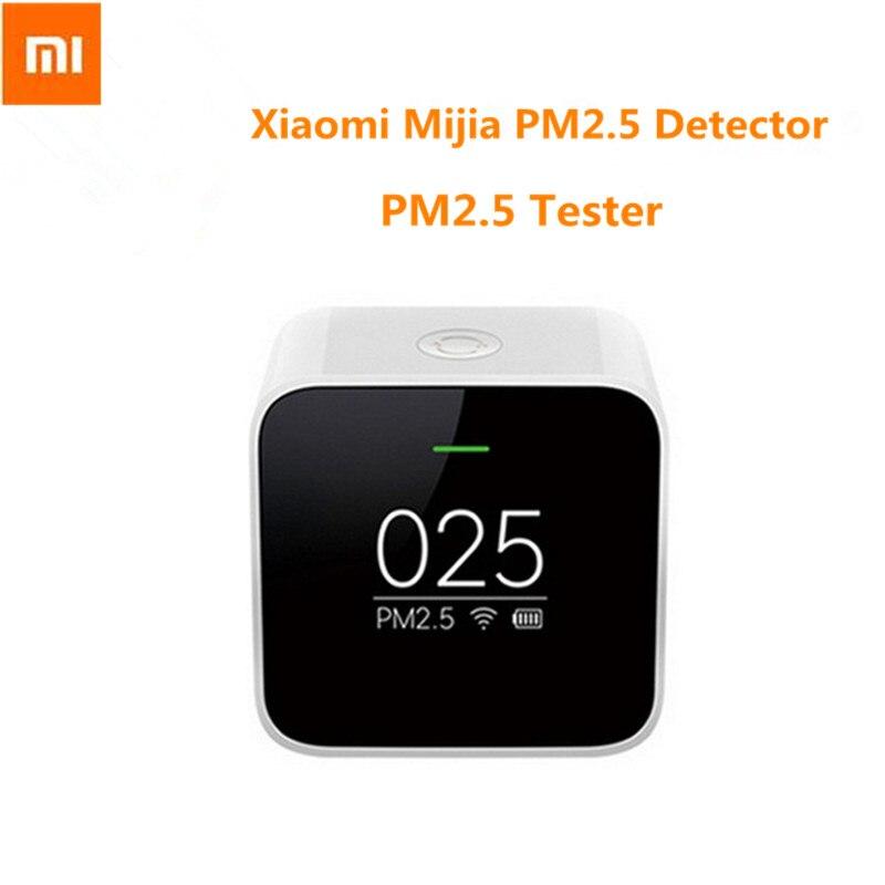 Détecteur d'origine Xiao mi mi jia PM2.5 testeur de qualité de l'air Xiao mi écran OLED capteur intelligent contrôle intelligent APP adapter mi purificateur d'air