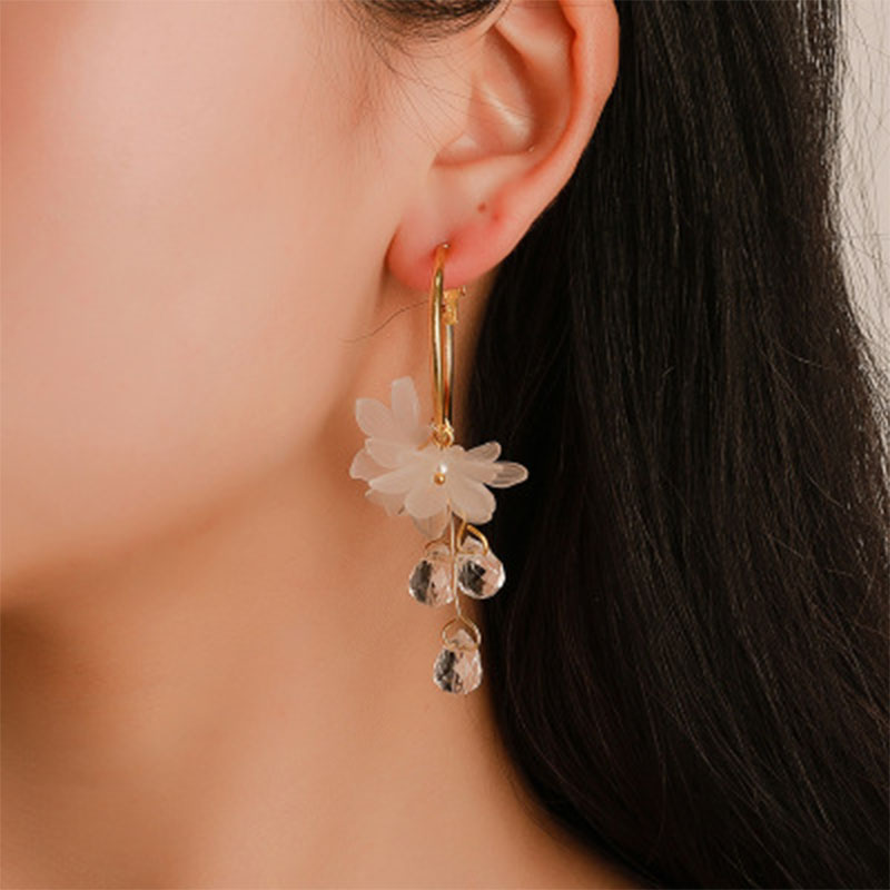New Korean Statement Earrings Women 39 s Earrings female 2019 Fashion Modern Jewelry Hanging kolczyki Oorbellen WD12 in Drop Earrings from Jewelry amp Accessories