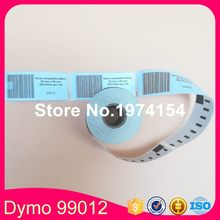 6 x rolls Dymo 99012 Labels Compatible adress labels(China)