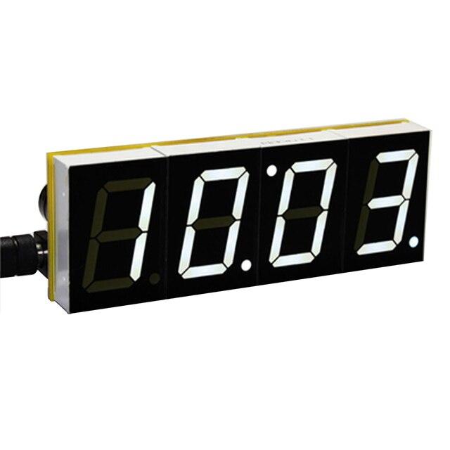 DIY Digital LED Large Screen Display Clock kit 4 Colors