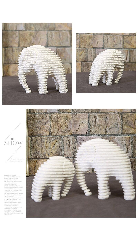 Elephant Figurines (10)