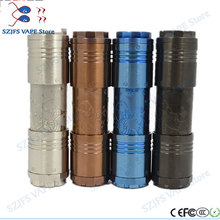E-cigarette mech mod mechanical pen Mod 18650/18500/18350 battery body Vape VS AV MOD Kennedy 25 Kit for RDA RBA RDTA
