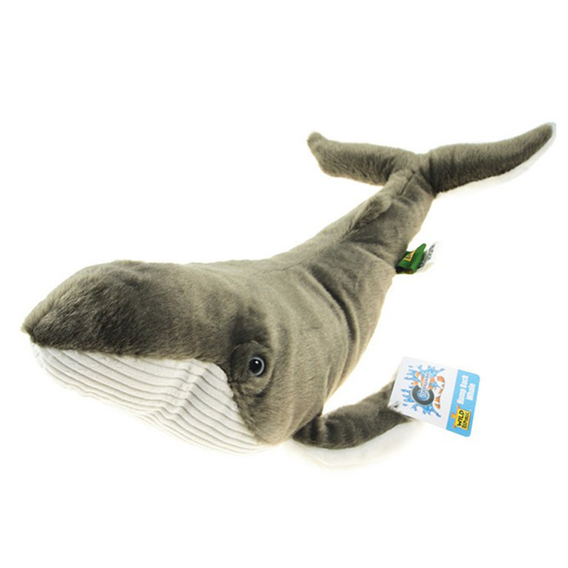 38cm Lovely Whales Toys Plush Whales Toys with Soft PP Cotton Creative Stuffed Animal Dolls Birthday Gift To Child 1pc 45cm lovely rabbit plush pillow stuffed cute animal toys dolls kawaii soft kids baby sleeping doll creative birthday gift