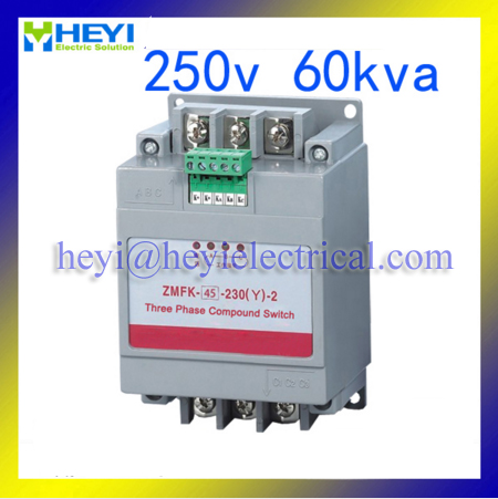 tahmeed aijaz reactive distillation ZMFK-II Three phase Reactive power compensation regulator with thyristor controll 250v 60kvar Y type connection