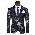 2017 Nueva Venta Caliente Arrial Modelos Trajes de Hombre Traje Homme Chaqueta Masculino Vestido de Boda Slim Fit chaqueta para hombre chaqueta