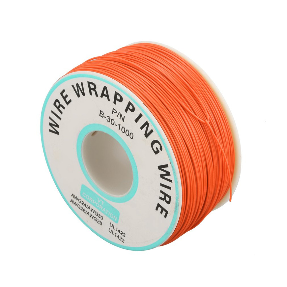 250m 30awg single core copper wire ok line circuit flight line pcb