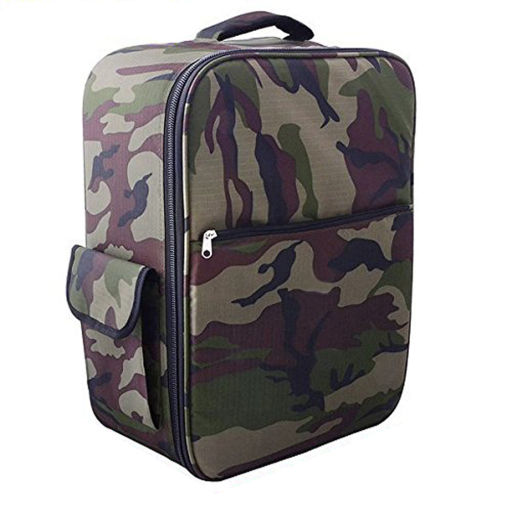 2X Carrying case specially for DJI Phantom 1/2 QR X350 + FC40, 48cm x 35cm x 22cm Camouflage carrying shoulder backpack bag for dji phantom 1 2 vision vision fc40 21671