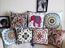 Bordado decoración del hogar cojín almohada funda de almohada sofá cojines decorar cojines cojines almofada coussin