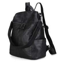 Новый Корейской версии первый слой кожи женщин женская сумка кожа рюкзак дамы сумка мотоцикл многоцелевого н