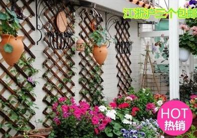Houten Hekwerk Tuin : Freeshipping carbonisatie corrosie bescherming hek outdoor tuin