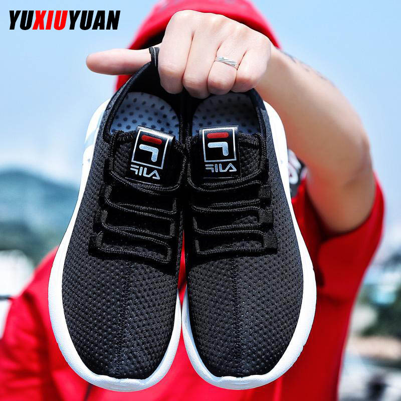 Fashion Flying Weaving Breathable Lace-Up Outdoor Running Shoes Men Leisure Cushioning Ultralight Sport SneakersFashion Flying Weaving Breathable Lace-Up Outdoor Running Shoes Men Leisure Cushioning Ultralight Sport Sneakers