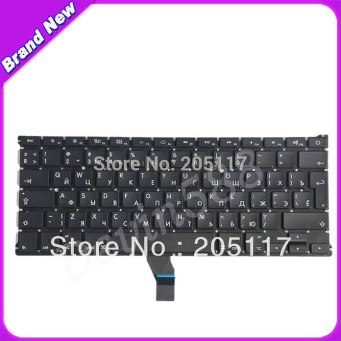 New Keyboard For Apple Macbook Air 13 A1369 MC965LL MC966 2011 version Russian RU keyboard