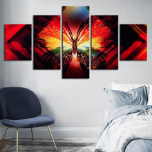 Canvas Painting Wall Art Butterfly HD Printing Abstract Animal Poster Home Decorative Modern Living Room Modular Pictures Framed(China)