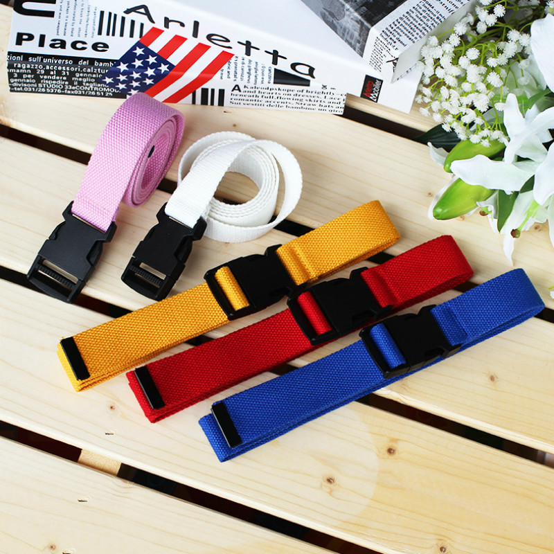 Canvas Belt Buckle Ceinture Harajuku Plastic Female Black Femme Casual Fashion Women