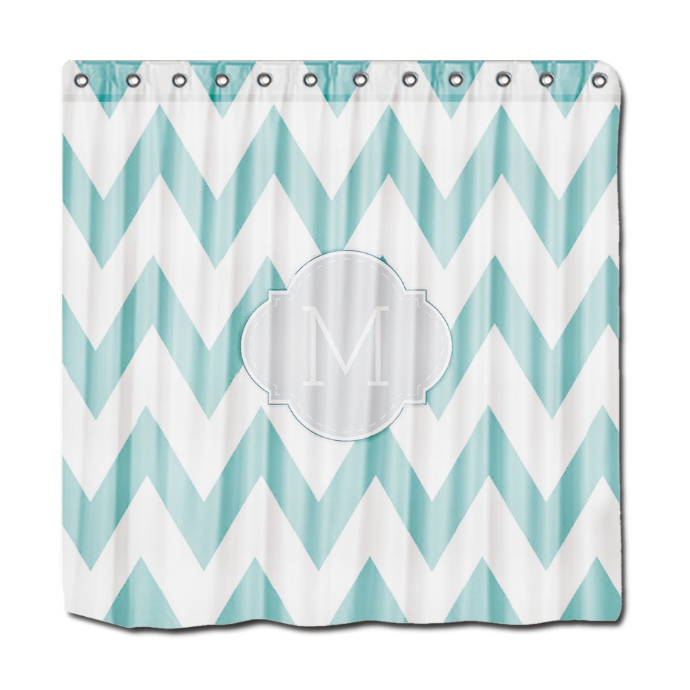 Mint green shower curtain and rugs - Mint Green Shower Curtains Monogrammed Shower Curtain Waffle Personalized Shower Curtains With F Personalized Shower