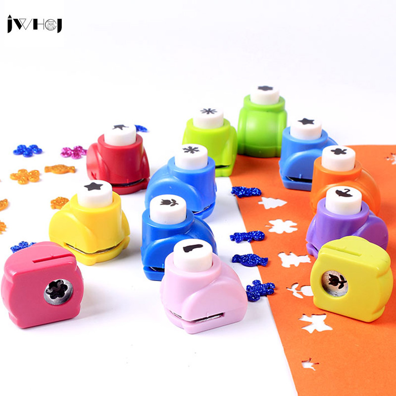 JWHCJ 1 pcs Mini Embossing DIY Corner Paper Printing Card Cutter Scrapbook Shaper Hole Punch device Kids Handmade Craft gift