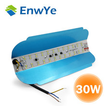 EnwYe NEW LED Iodine tungsten lamp 30W cold light AC 220V 240V LED outdoor lighting Construction site lighting floodlight(China)