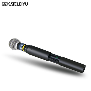 Image 4 - Top Professional 4 Channel UHF Wireless karaoke Microphone System with carry case handhled MIC for Stage Church wedding