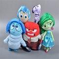 2015 Горячий Новый Pixar Фильм Наизнанку Плюшевые Игрушки Кукла Гнев Радости Страха Отвращения И Печаль для Детей Подарок