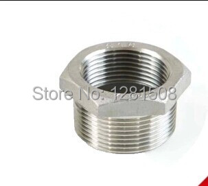 1/2 BSP to 3/4 304 stainless steel casting core/thread core/tonic water connection/filling head bushing image