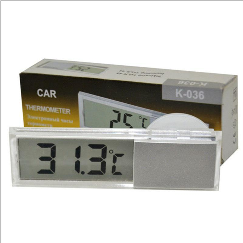 Osculum Type LCD Vehicle-mounted Car Digital Thermometer Celsius Fahrenheit External Sensor Electronic Tester Thermometer r30